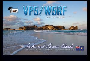 QSL VP5/W5RF