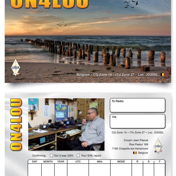 ON5UR QSL Printing, QSL kaarten drukken, QSL cards, QSL Print Service, QSL Printing, full colour QSL cards