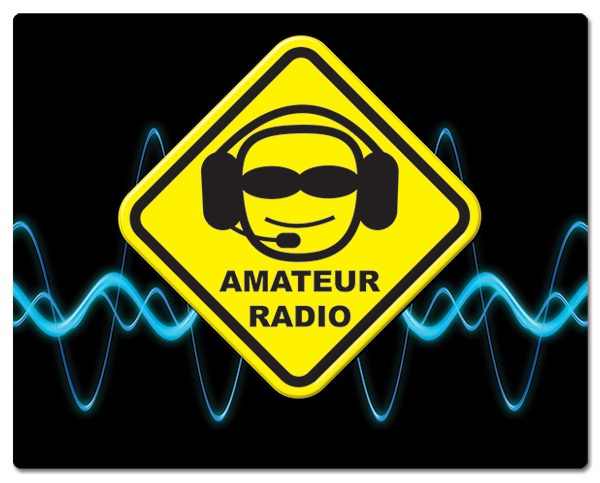 Radio Amateur muismatjes: PVC toplaag, extra dun (2mm) antislip onderkant. Bestel ref: MP009.