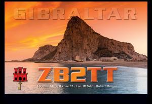 QSL ZB2TT