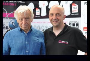 "Hambeurs: ON5UR Max & DJ9ZB Franz ""DX World Guide"" - Ham Radio - Friedrichshafen - Germany"
