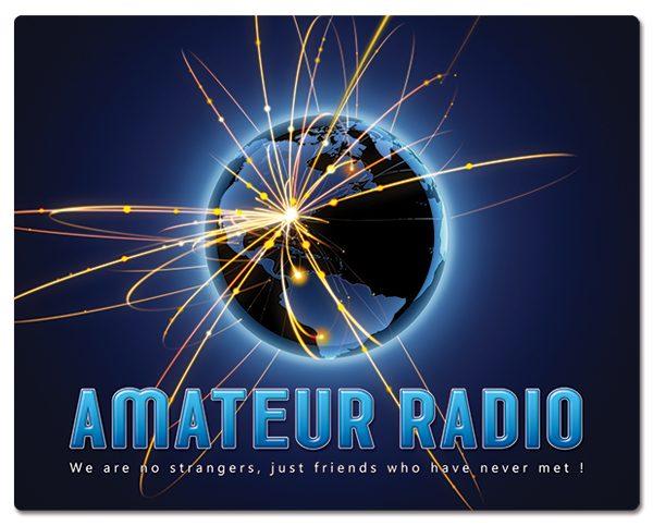 Radio Amateur muismatjes: PVC toplaag, extra dun (2mm) antislip onderkant. Bestel ref: MP007.