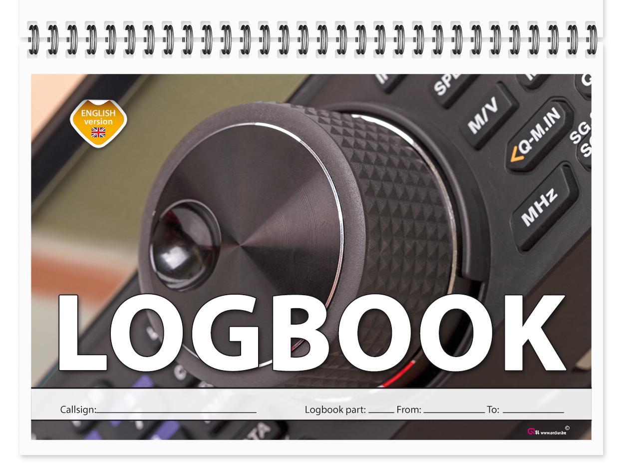 Radio Amateur Logbook - Logboek - Logboek voor 1500 QSO's