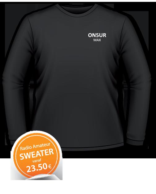 Ham T-shirts | Radio Amateur Sweaters | Radio Amateur textiel | Ham textile